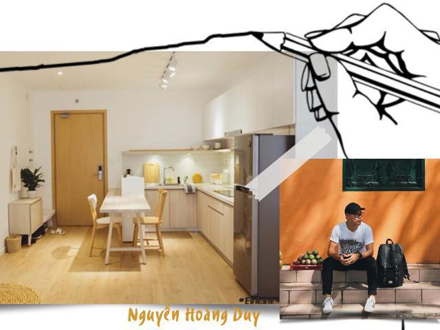 Anh chàng độc thân Sài Gòn tự thiết kế căn hộ 63m² đẹp mê ly khiến ai cũng muốn ở