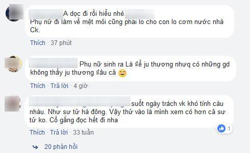 """nghe kho nhat la nghe lam vo"", tam thu noi ho tieng long cua vo so chi em - 3"