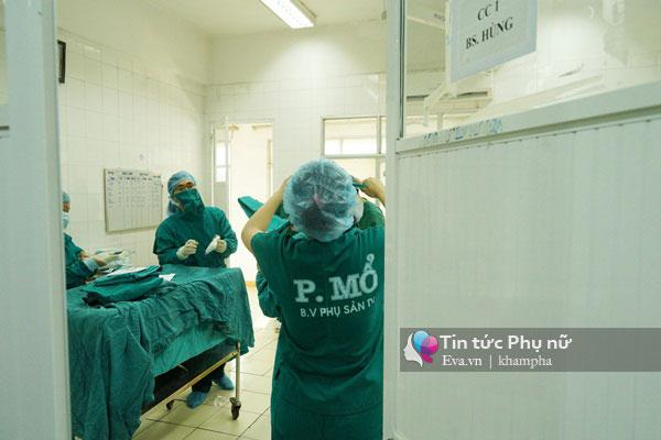 vao phong mo de benh vien phu san trung uong xem tron ven 1 ca sinh mo - 6
