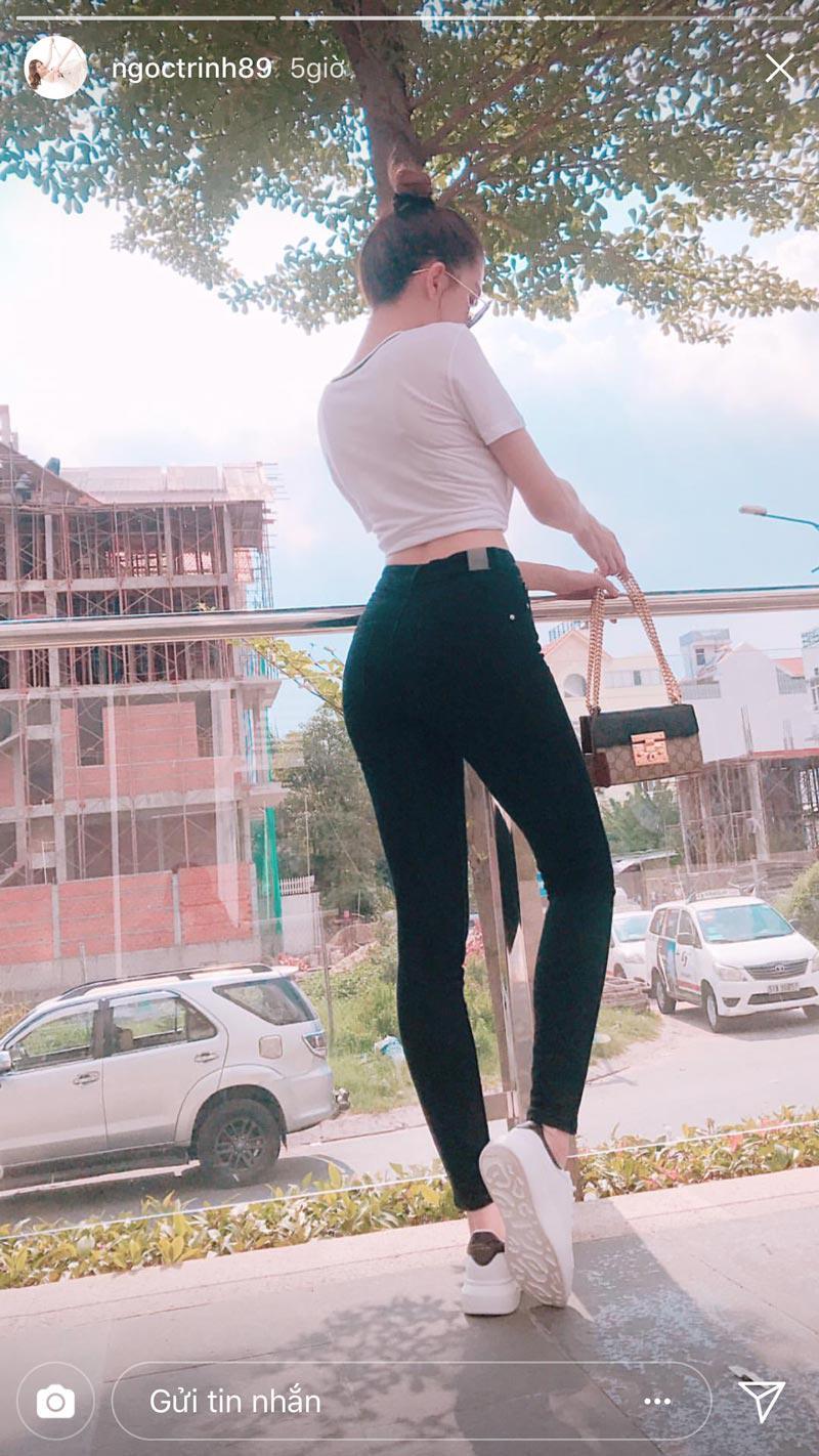 bi quyet de mac ao thun kin dao van sexy nhu ngoc trinh - 3