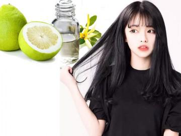 Mẹo sử dụng tinh dầu bưởi kích thích tóc mọc nhanh