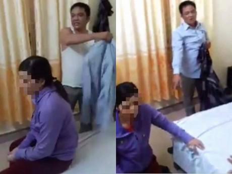 Chồng bắt quả tang vợ trong nhà nghỉ cùng Trưởng công an xã