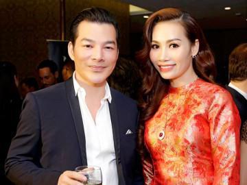 Á hậu 2 Ms Universe Business 2018 tái ngộ diễn viên Trần Bảo Sơn tại sự kiện