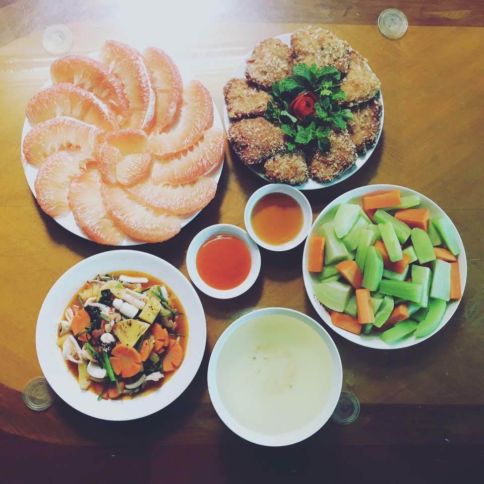 khoe nhung mam com hut nghin like, co giao tieng anh tho the: la do bo day! - 14