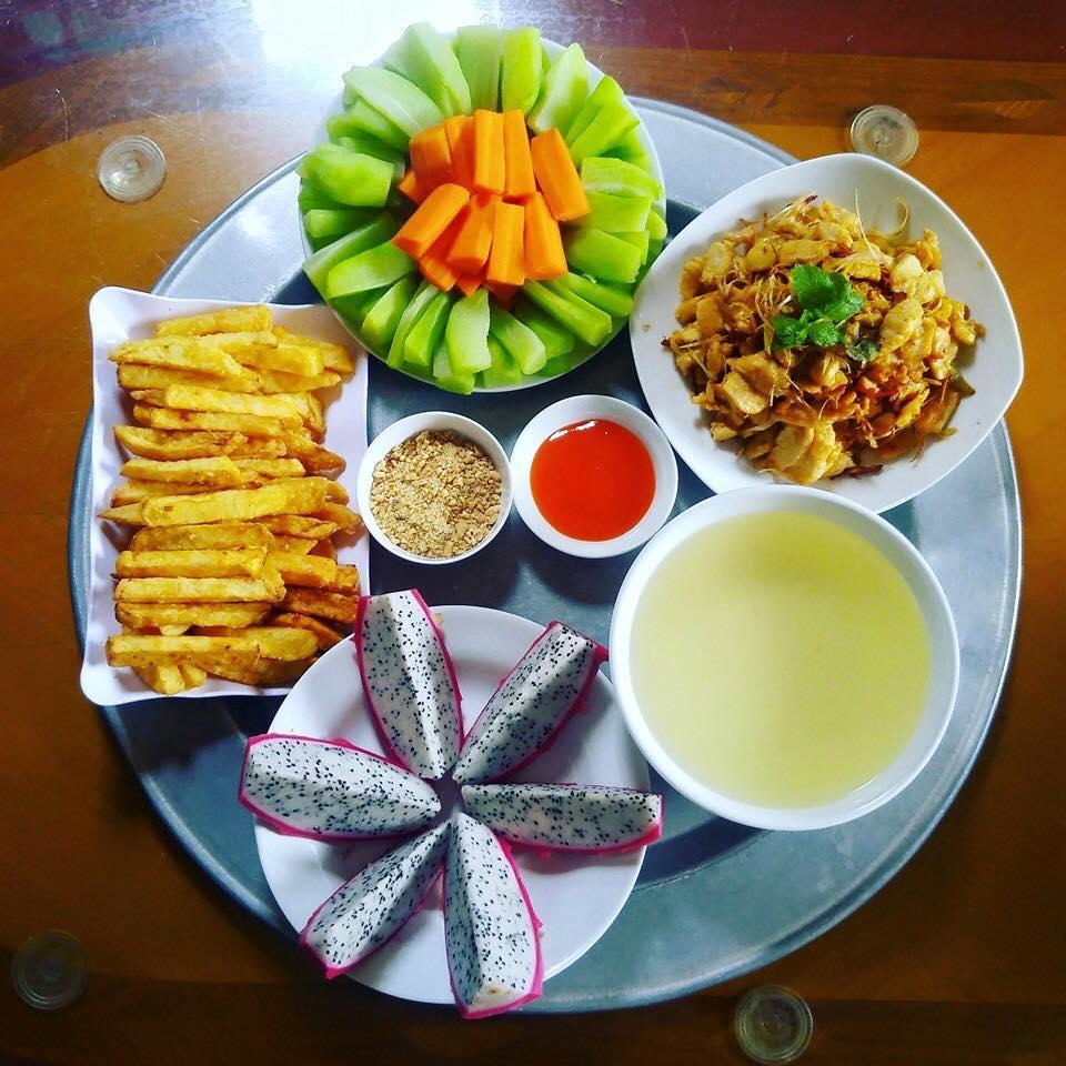 khoe nhung mam com hut nghin like, co giao tieng anh tho the: la do bo day! - 8