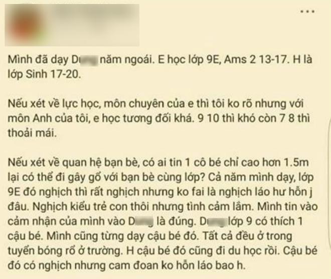 nu sinh to anh re btv bao hanh: chuyen thuy d bi danh nhom ban than da biet tu lau - 2