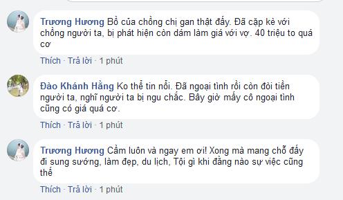 bat qua tang chong ngoai tinh, vo tre duoc bo de nghi mua chuoc bang 40 trieu de im lang - 3