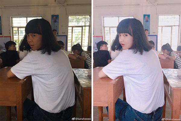 """hoi thanh """"song ao"""" bi lat tay vi chieu tro photoshop ho bien mui cao, cam v-line - 9"""