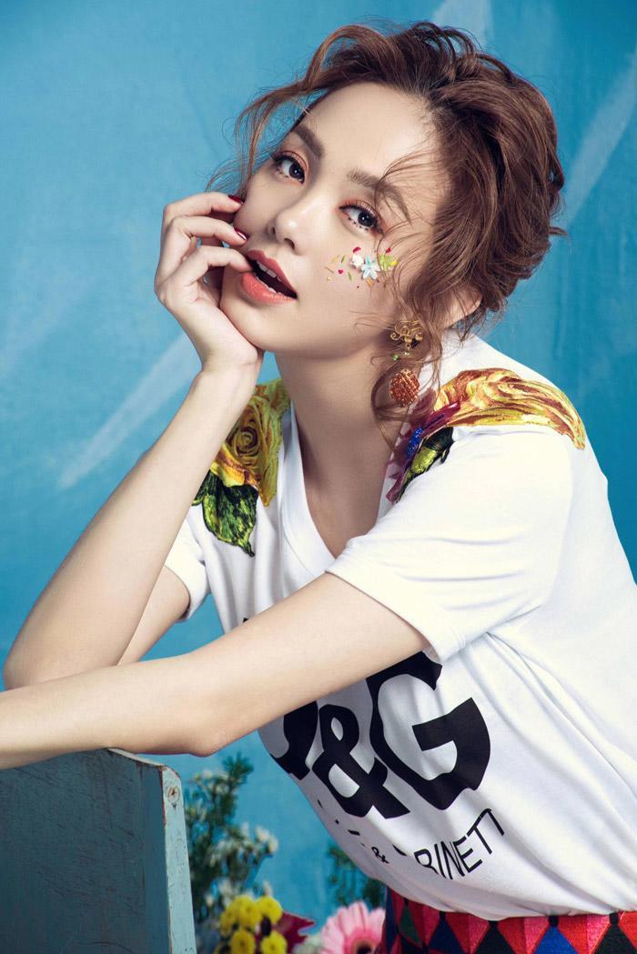 hot: minh hang chinh thuc ngoi ghe nong the face 2018 - 3