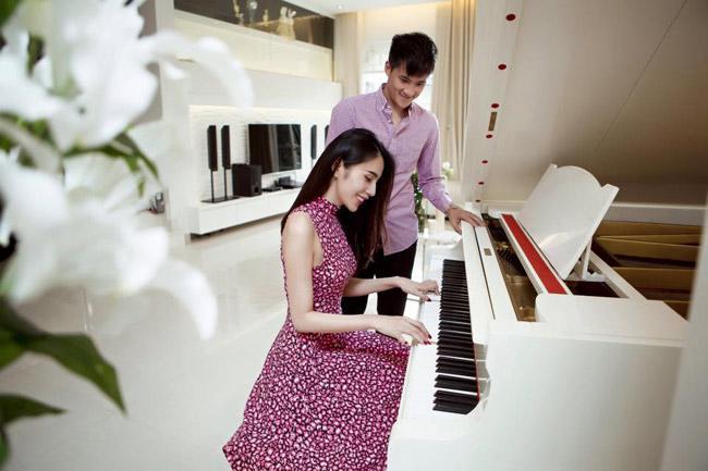 to am cua vo chong cong vinh - thuy tien co hanh phuc nhu nhung gi ho dang the hien? - 2