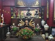 Cận cảnh từng ngóc ngách trong ngôi nhà với vô số đồ cổ tiền tỷ tại Hà Đông, Hà Nội