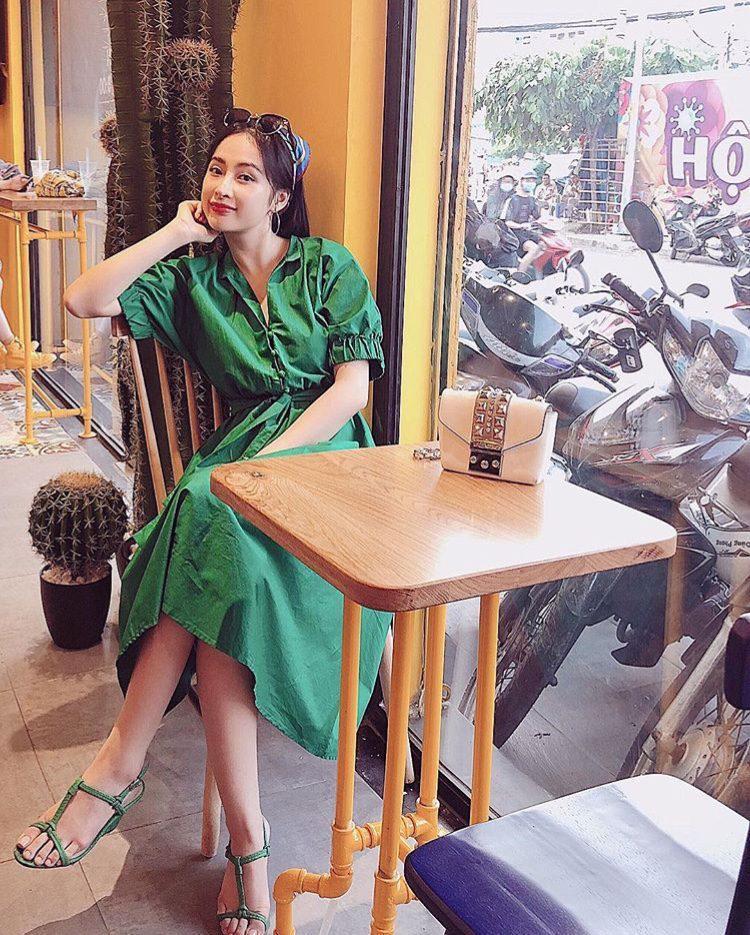 """angela phuong trinh """"chao he"""" bang hang loat vay ao tre trung, sanh dieu - 12"""