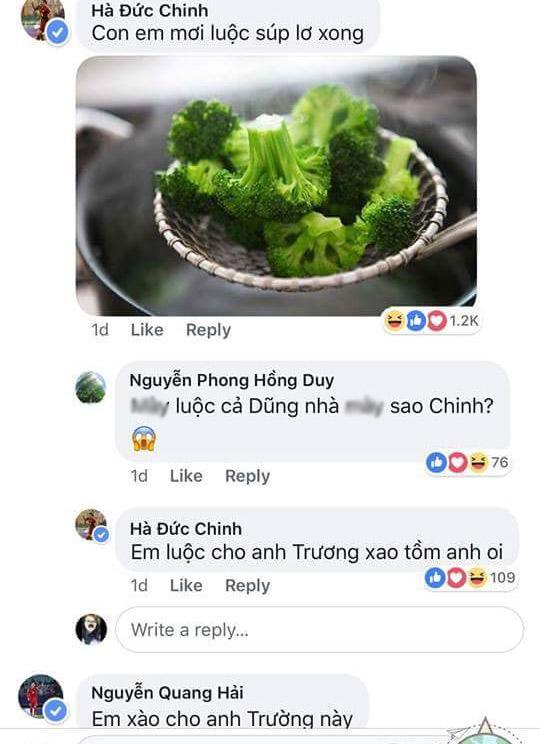 khi xuan truong noi them tom tren facebook, cac cau thu u23 lien dap loi theo cach cuc ba dao - 6