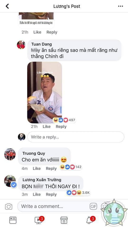 khi xuan truong noi them tom tren facebook, cac cau thu u23 lien dap loi theo cach cuc ba dao - 12