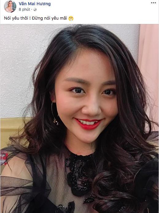 """Sắp đến ngày đám cưới bạn trai cũ, Văn Mai Hương """"dặn lòng mạnh mẽ lên"""" - 3"""