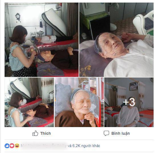 """hai cu ba 90 tuoi van """"sanh dieu"""" di spa, thuong xuyen dap mat dua leo lam dep! - 1"""