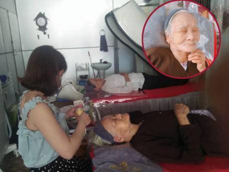 """Hai cụ bà 90 tuổi vẫn """"sành điệu"""" đi spa, thường xuyên đắp mặt dưa leo làm đẹp!"""