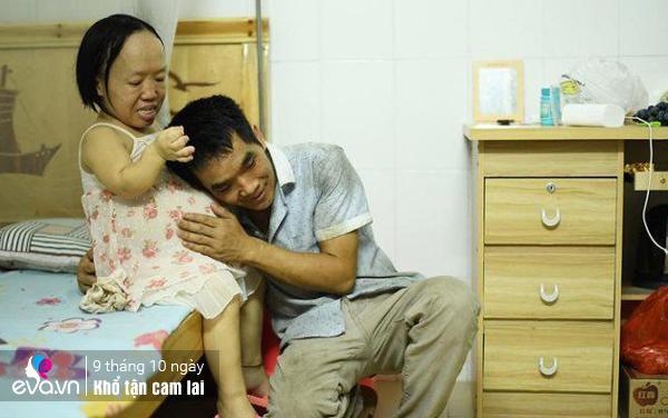 ba me nho nhu tre 4 tuoi mang thai khong ai dam cuoi, duoc chong cham nhu cong chua - 5