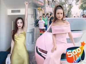 Nữ MC bên ngoài xinh đẹp, bên trong nhiều tiền: Búng tay mua túi hiệu, chất đồ trên BMW hồng