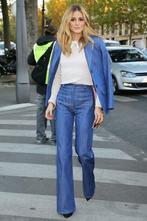 kiẻu quàn jeans vùa thoải mái lại khong lõi mót dang duọc lòng chị em - 4