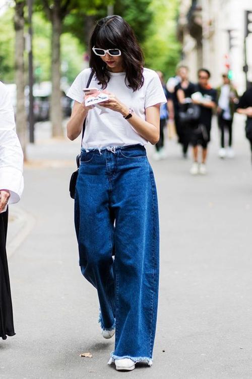 kiẻu quàn jeans vùa thoải mái lại khong lõi mót dang duọc lòng chị em - 6