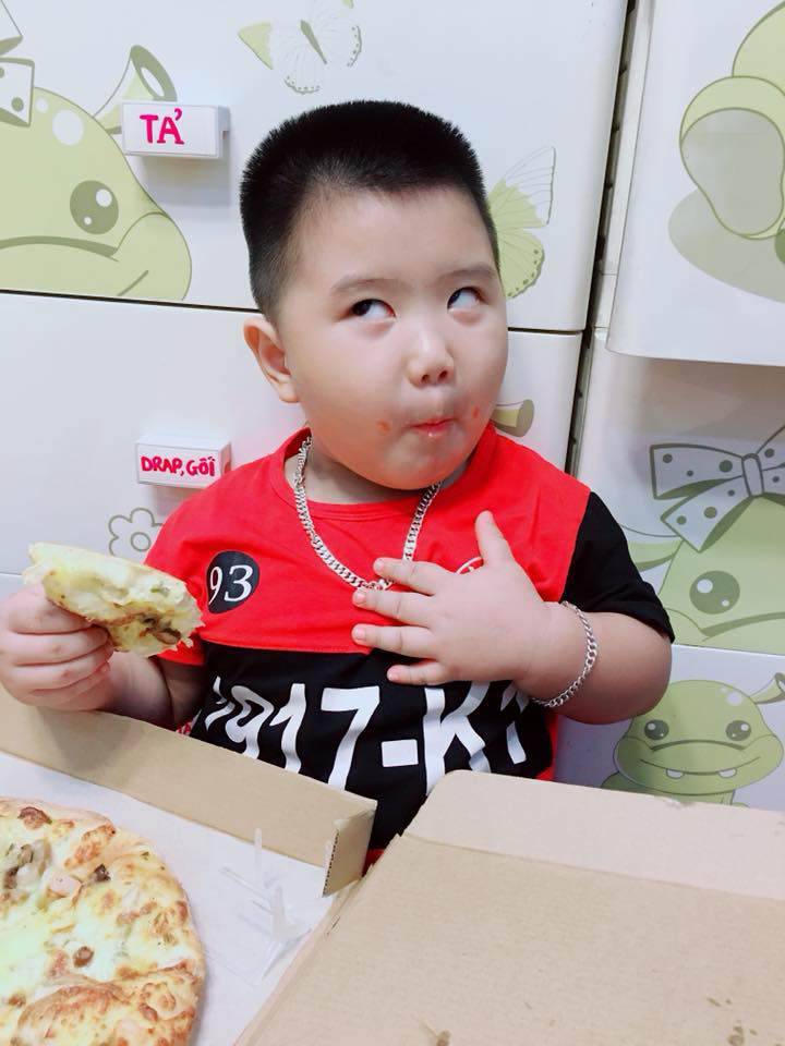 "chuyen thu vi ve cau be so ""ba ke"" google gay sot mxh: 3 tuoi noi tieng anh vanh vach - 2"