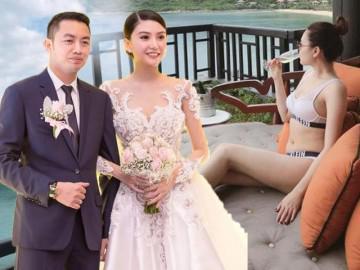 Mỹ nữ Vũng Tàu đi xe 70 tỷ khoe eo thon sau sinh, đi nghỉ dưỡng với chồng đại gia
