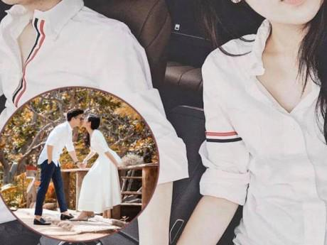 """Sát ngày cưới, Tú Anh vẫn phải """"khẳng định chủ quyền"""" bằng cách khoe ảnh nắm tay chồng hạnh phúc"""