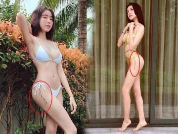 """Trên 30 rồi mà Elly Trần vẫn khoe dáng táo bạo, lộ hình xăm chỗ """"nhạy cảm"""""""