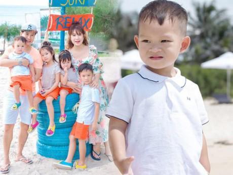 Sinh nhật con trai thứ 4, Minh Hà tiết lộ bé mới 2 tuổi đã thuộc hết bảng chữ cái