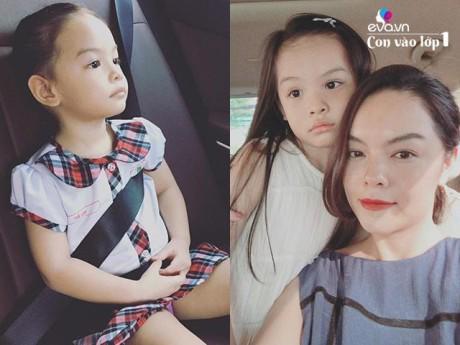 Phạm Quỳnh Anh đưa con đi xét tuyển lớp 1, trường sau khi kiểm tra mời thẳng lên lớp 2