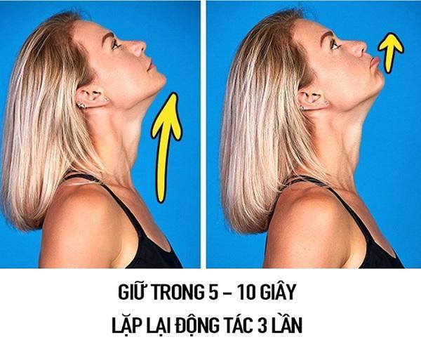 """so huu guong mat v-line khong dung """"dao keo"""" chi voi 9 dong tac massage don gian - 2"""