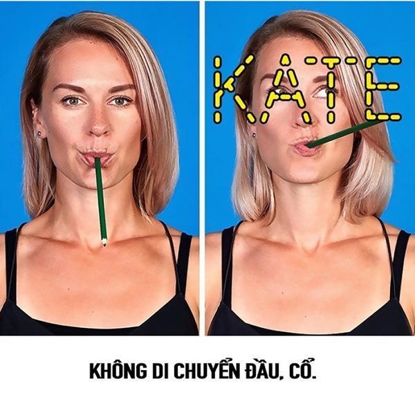 """so huu guong mat v-line khong dung """"dao keo"""" chi voi 9 dong tac massage don gian - 5"""