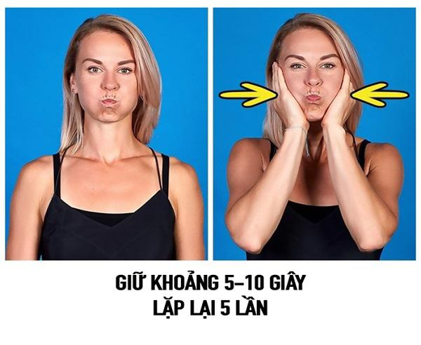 """so huu guong mat v-line khong dung """"dao keo"""" chi voi 9 dong tac massage don gian - 7"""