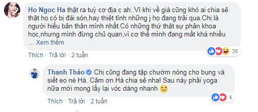 Thanh Thao hoang mang vi kieng cu sau sinh, Ho Ngoc Ha lap tuc vao go roi