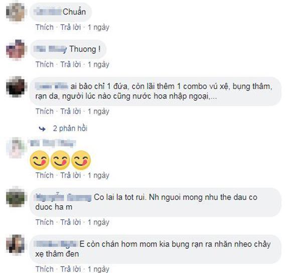 me sau sinh xot xa vi nhan sac phai tan, guong khong dam soi, chong chang dam om - 3