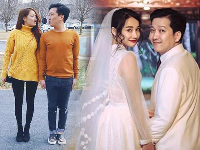 Những set đồ đôi dễ thương của Cặp vợ chồng mới nhất Vbiz Trường Giang, Nhã Phương