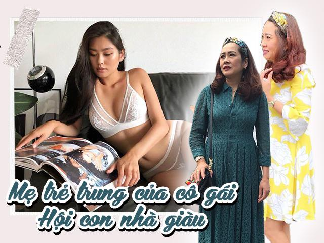 Thật bất ngờ, mẹ của thành viên Hội con nhà giàu có tới 4 người con và mặc cực trẻ